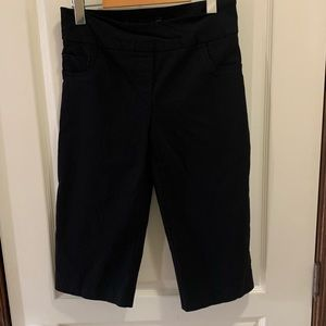 Reitmans black capri pants